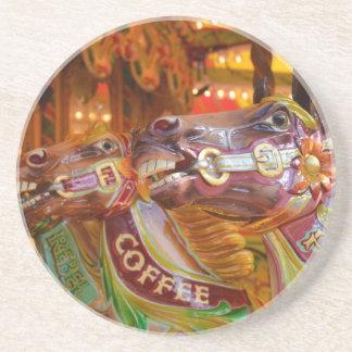 victorian carousel coasters