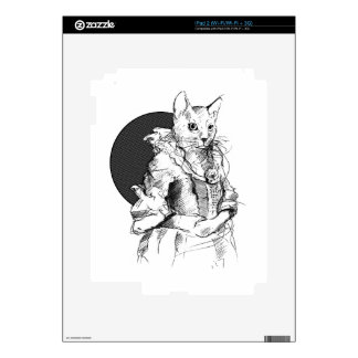 victorian cat final iPad 2 skin