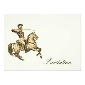 Victorian Cavalry - Vintage Invites
