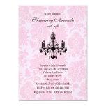 Victorian Chandelier Bridal Shower Invitation