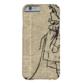 Victorian Child on a Dictionary Page Barely There iPhone 6 Case