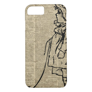 Victorian Child on a Dictionary Page iPhone 8/7 Case