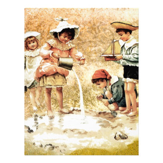 VICTORIAN CHILDHOOD LETTERHEAD