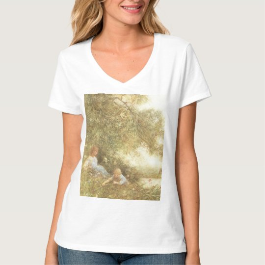 Victorian Children Playing Outside T-Shirt