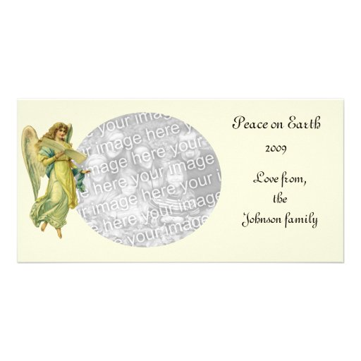 Victorian Christmas Angel, Gloria in Excelsis Deo Card