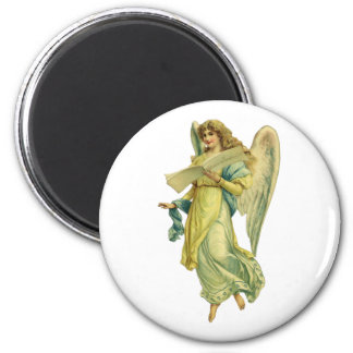 Victorian Christmas Angel, Gloria in Excelsis Deo Magnet
