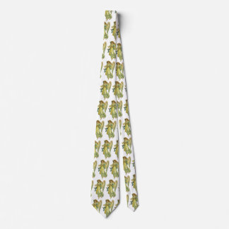 Victorian Christmas Angel, Gloria in Excelsis Deo Neck Tie