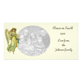 Victorian Christmas Angel, Gloria in Excelsis Deo Photo Card