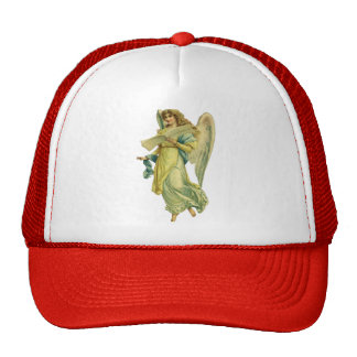 Victorian Christmas Angel, Gloria in Excelsis Deo Trucker Hat