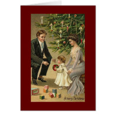 Victorian Christmas Card at Zazzle