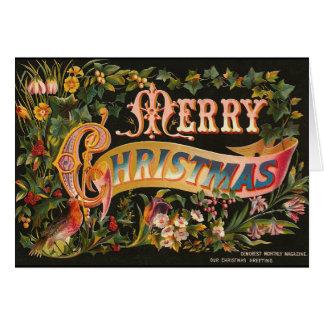 Victorian Christmas Card Fancy