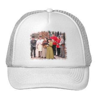 VICTORIAN CHRISTMAS CAROL SINGERS TRUCKER HAT