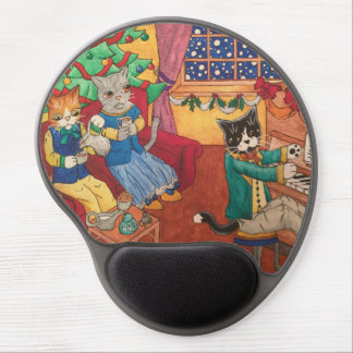 Victorian Christmas Gel Mouse Pad