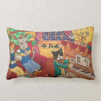 Victorian Christmas Lumbar Pillow