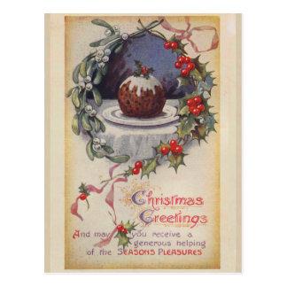 Victorian Christmas Postcard