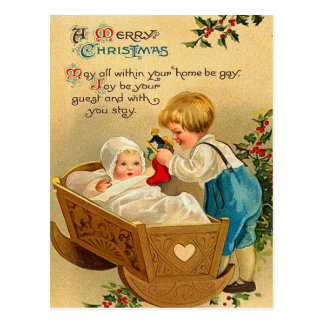 Victorian Christmas Postcards