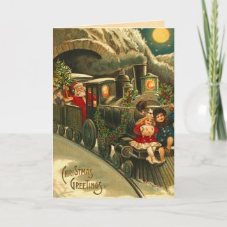 Victorian Christmas Santa Train