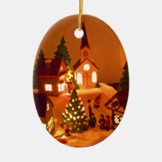 Victorian Christmas Village Christmas Ornaments