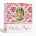 Victorian Christmas Vinyl Binder