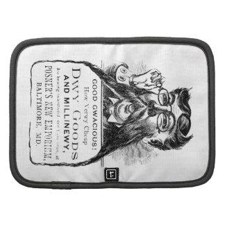 Victorian clásico que hace publicidad del pedazo planificadores