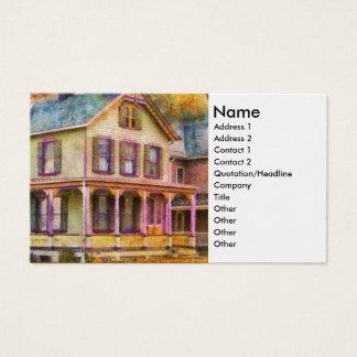 Victorian - Clinton, NJ - Grandma had a big family Business Card