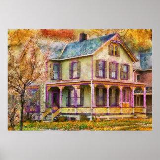 Victorian - Clinton, NJ - Grandma had a big family Print
