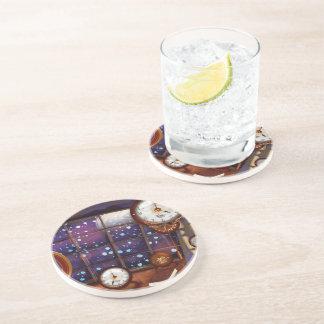Victorian ClockMaker Workshop Drink Coaster