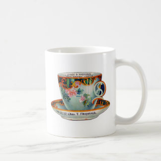 Victorian Coffee Advertising Piece Coffee Mug