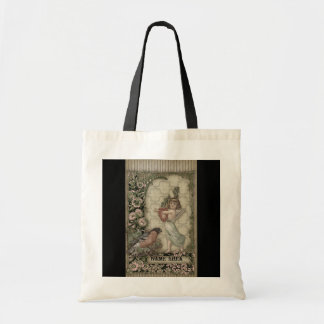 Victorian Collage Tote Bag