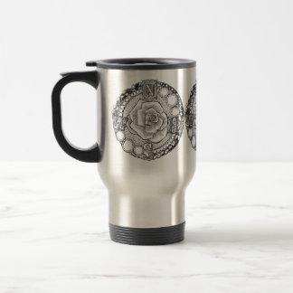Victorian Compass Rose Travel Mug