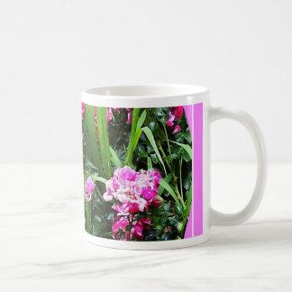 Victorian Cottage Pink Rose Garden by Sharles Coffee Mug