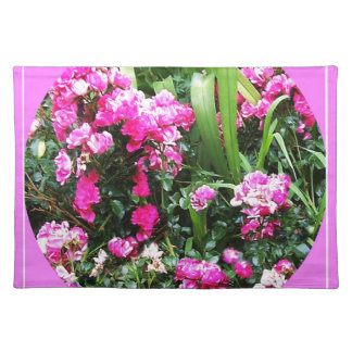 Victorian Cottage Pink Rose Garden by Sharles Place Mats