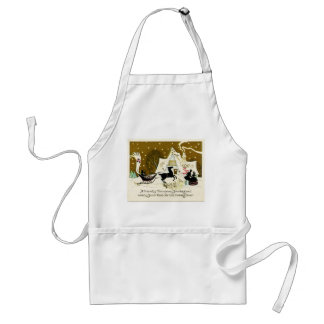 Victorian Country Christmas Apron