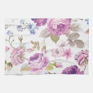 Lavender Roses Kitchen Towels | Zazzle