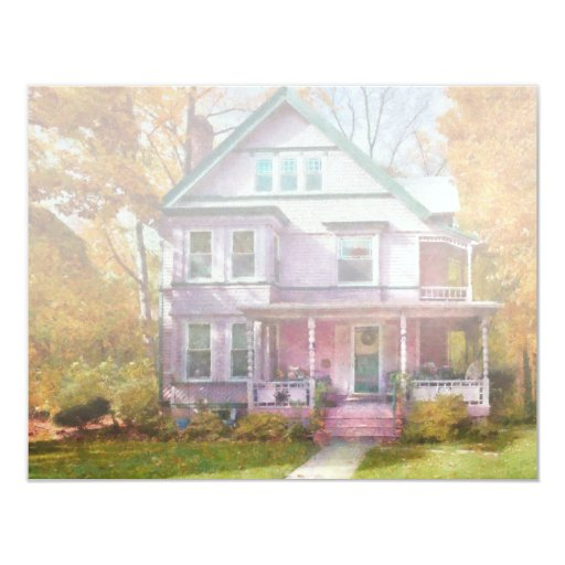 Victorian - Cranford, NJ - An Adorable house Personalized Invites
