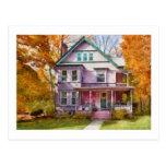Victorian - Cranford, NJ - An Adorable house Post Card