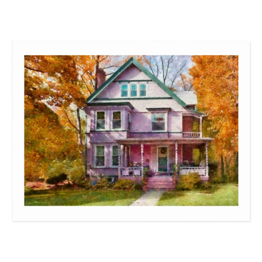 Victorian - Cranford, NJ - An Adorable house Postcard