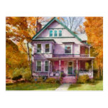 Victorian - Cranford, NJ - An Adorable house Post Cards