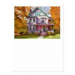 Victorian - Cranford, NJ - An Adorable house Postcards