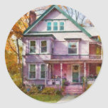 Victorian - Cranford, NJ - An Adorable house Stickers