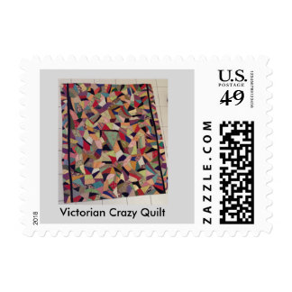 Victorian Crazy Quilt First Class Stamps