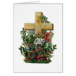 Victorian Cross Easter Card