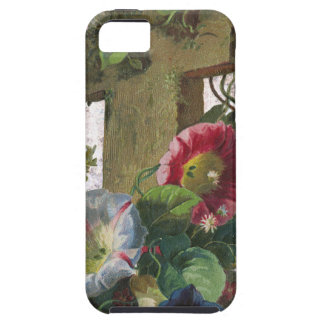Victorian Cross With Flowers Easter iPhone SE/5/5s Case