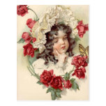 Victorian cutie postcard