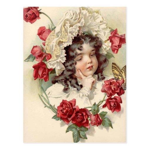 Victorian cutie postcards