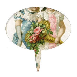 Victorian Cuties Cake Topper