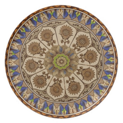 Victorian Cypress Plate