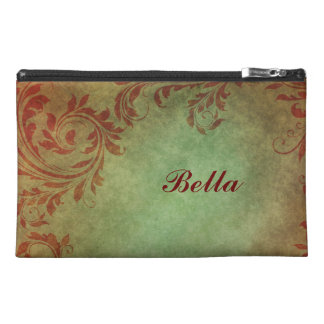Victorian Damask Custom Travel Accessory Bag