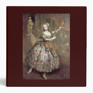 Victorian Dancer Brown Binder