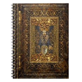 Victorian de Belldore Spiral Notebooks